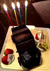 ケーキ正面