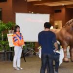 ばん馬体験④