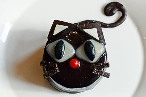 黒ねこケーキ